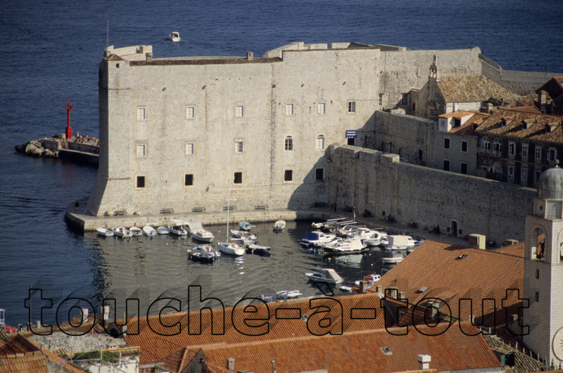 Dubrovnik's port, Croatia