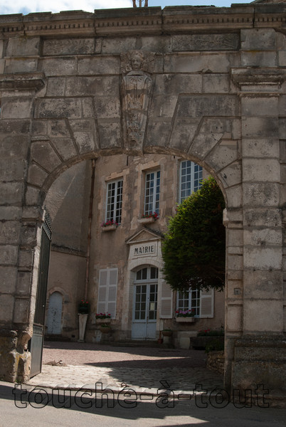 Mairie, Vezelay, Morvan National Park, Burgundy