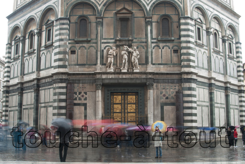 The baptistry doors, Duomo, Florence