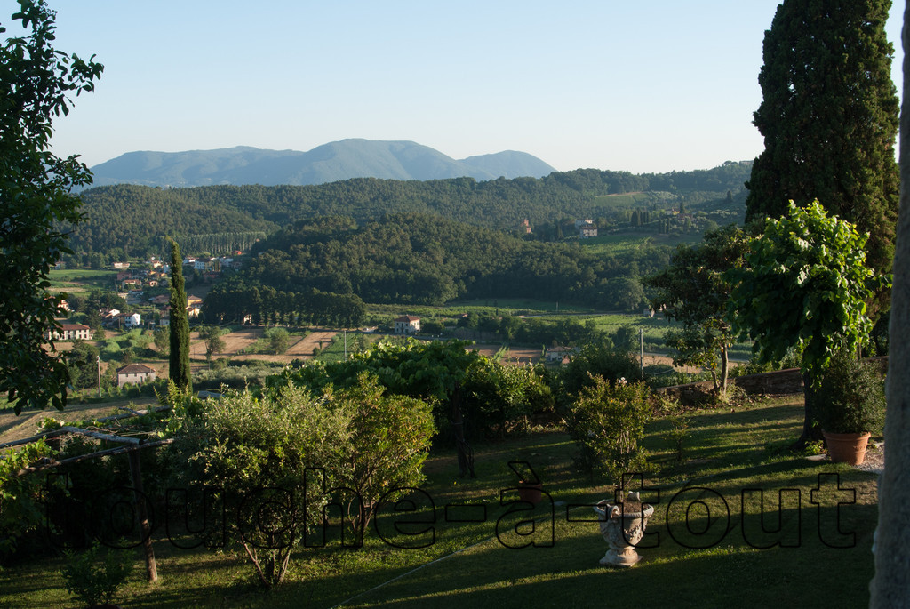 Tuscan countryside near Lucca