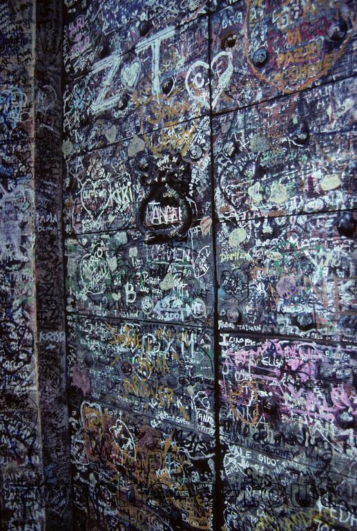 Verona<br /> 'Romeo & Juliet's' doors