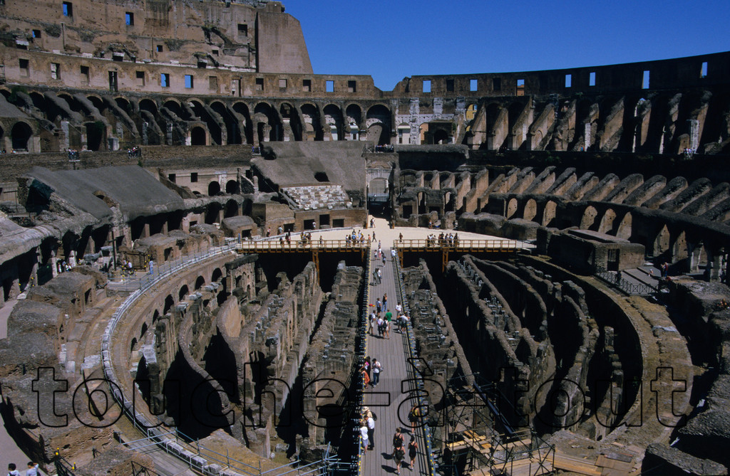 The Colosseum<br /> The Colosseum