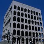 Pallazzo della Civita in the EUR, Rome Pallazzo della Civita in the EUR, Rome
