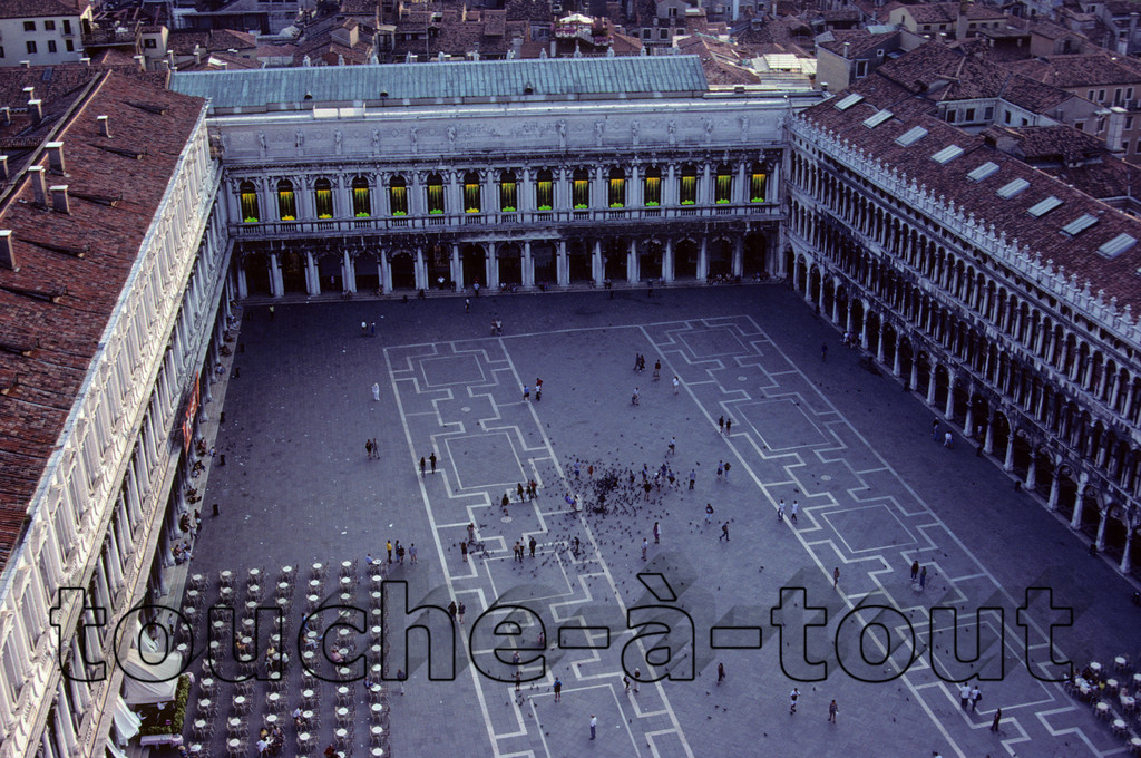 Piazza San Marco from the Campanile