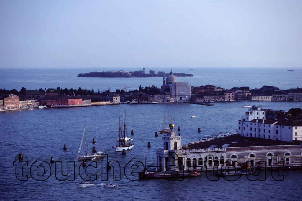 Looking South from the Campanile in Piazza San Marco over Giudecca