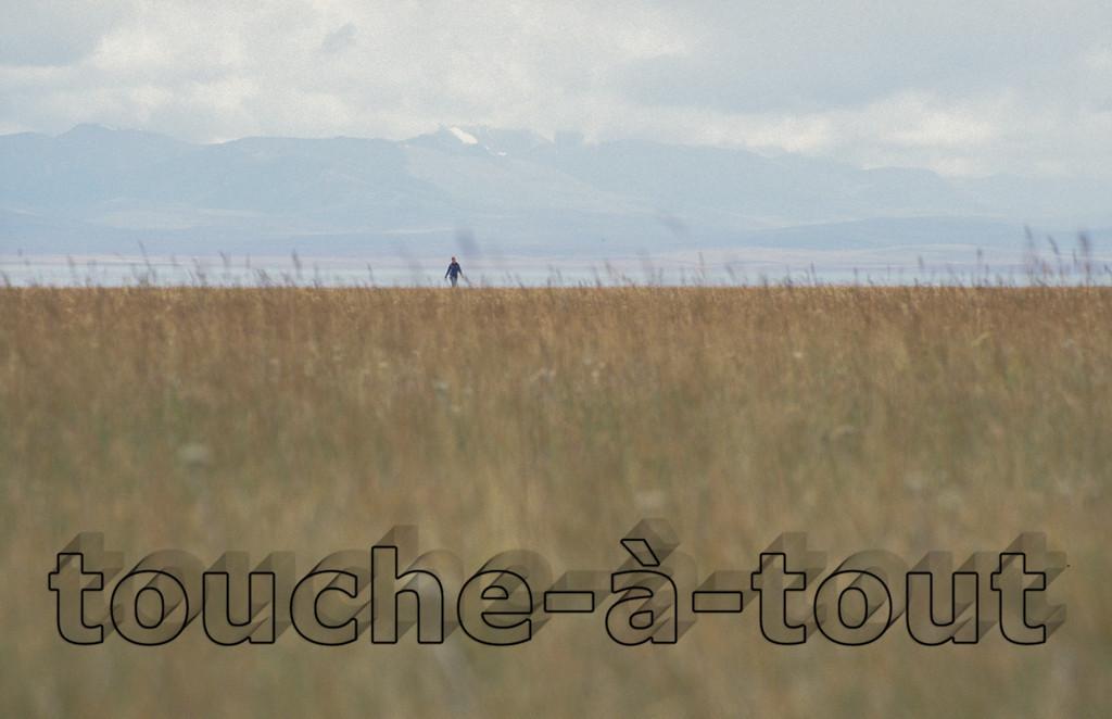 Walking by Son Kul, Kyrgyzstan