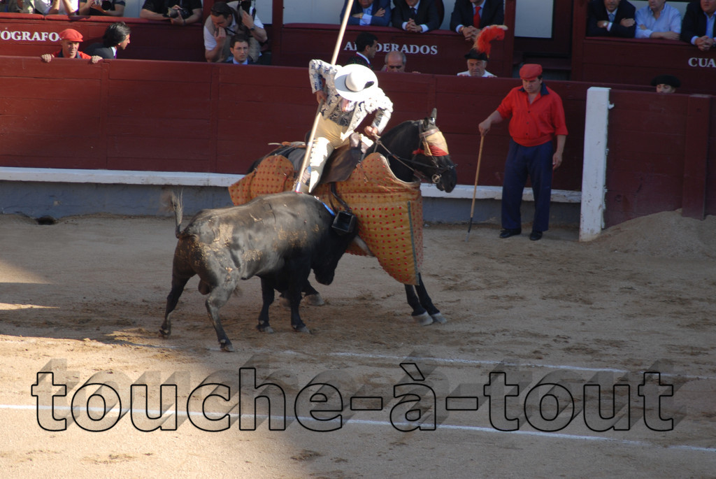 Bullfighting, Las Ventas, Madrid, Spain