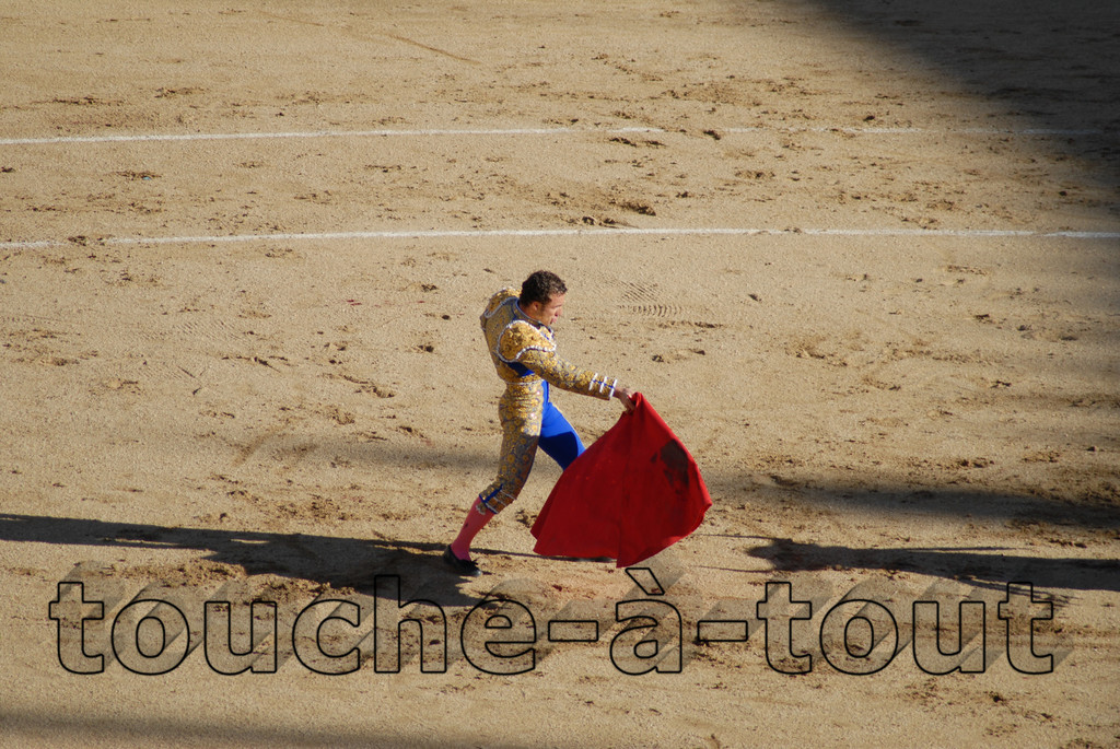 Matador in Las Ventas, Madrid