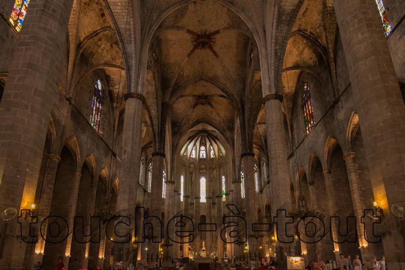 Basilica Santa Maria del Mar, Barcelona