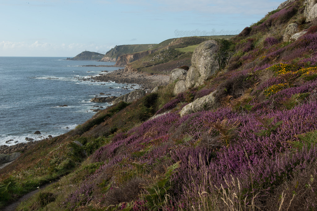 South West coastal path from Sennen Cove to Hendra
