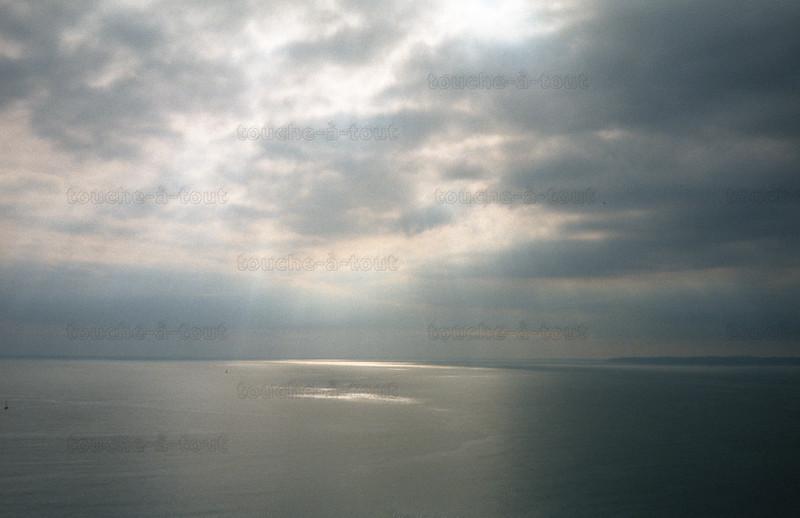 Off the south coast of Devon