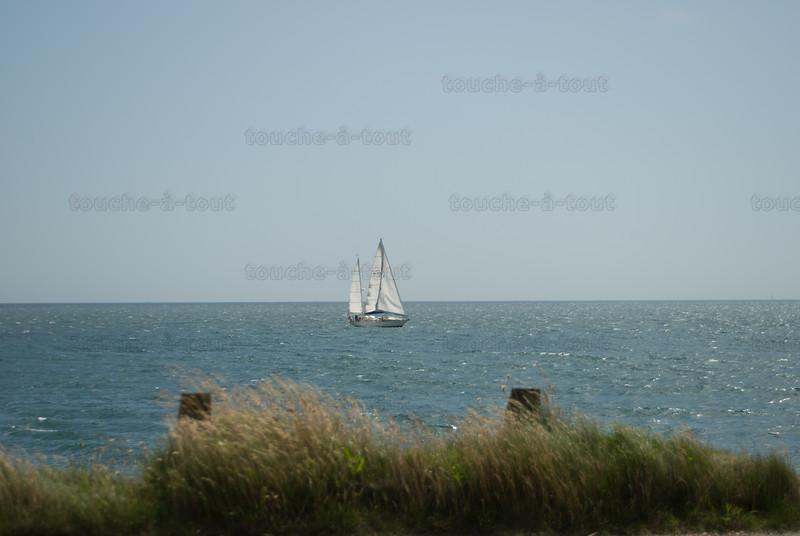 Off the coast of Burgh Island