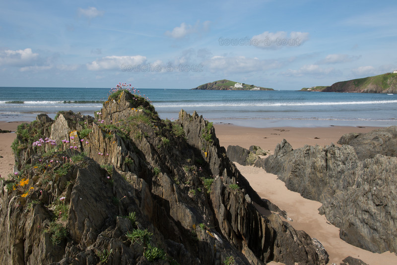Burgh Island from Bantham beach