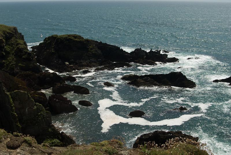 Coast off Burgh Island, Devon