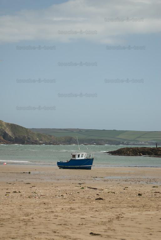 Burgh Island beach, Devon