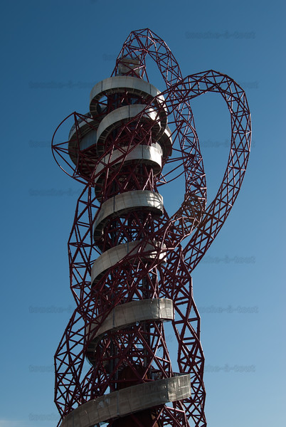 The Orbit Tower, by Anish Kapoor, Olympic Park