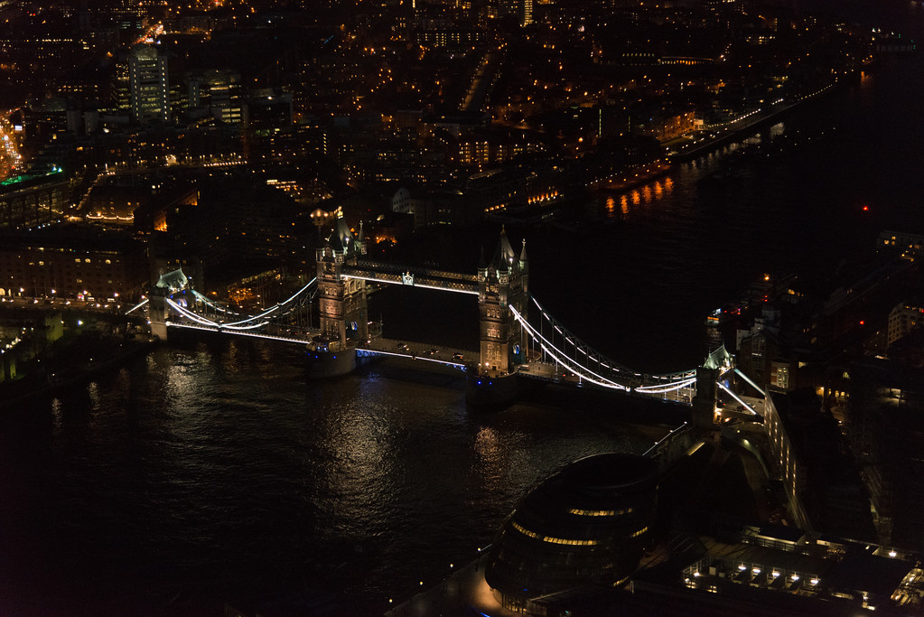 Tower Bridge from the Shard