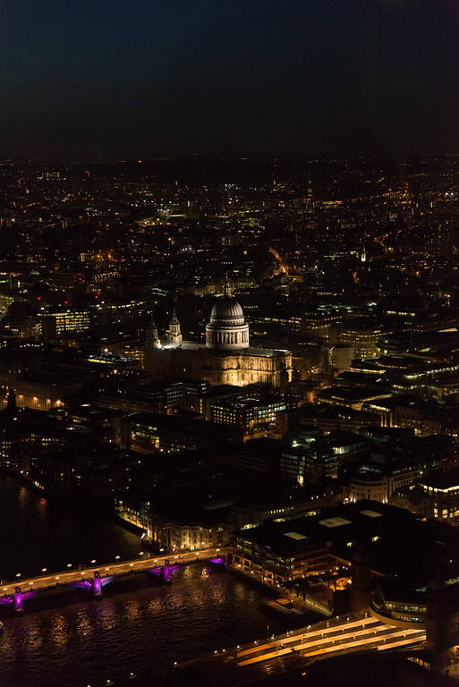 St. Paul's Cathedral from the Shard