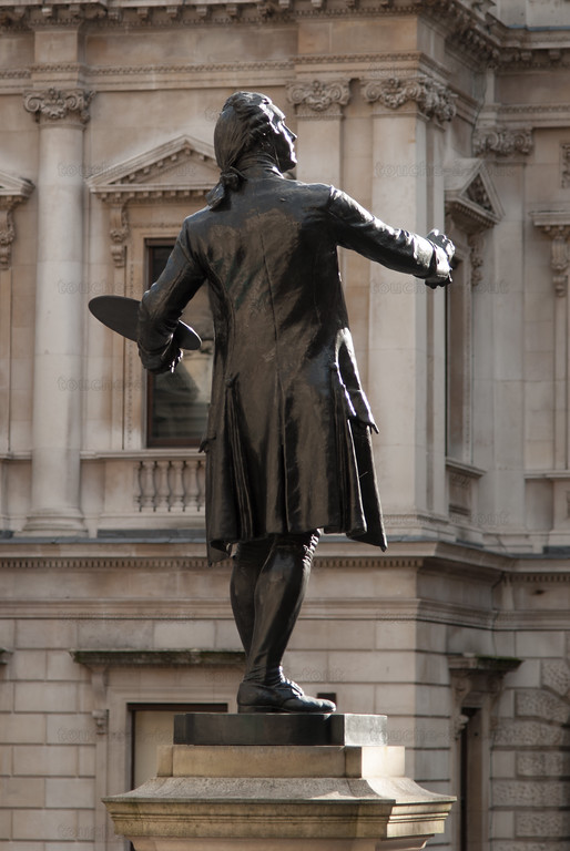 Joshua Reynolds statue, Burlington House