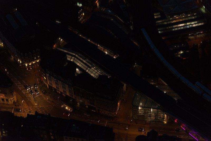Borough Market from the Shard