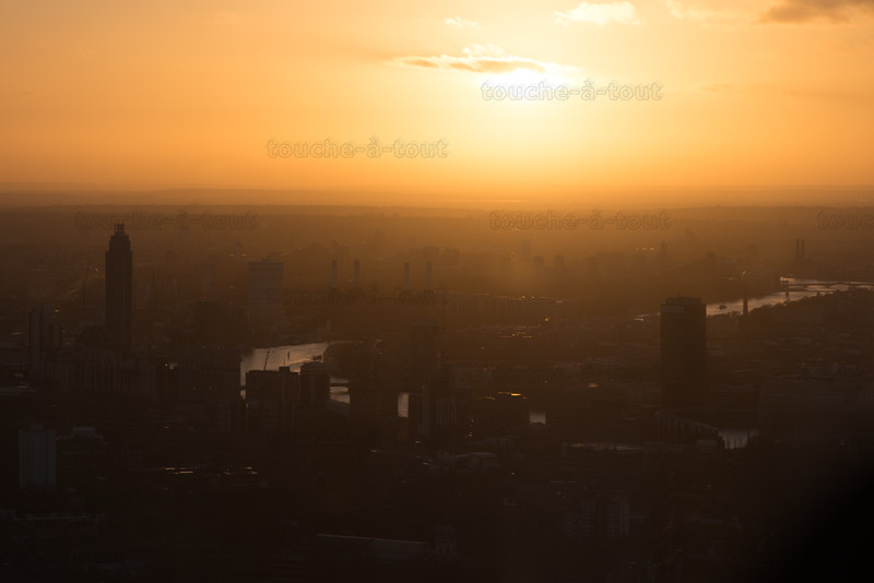 Vauxhall and Battersea from the Shard