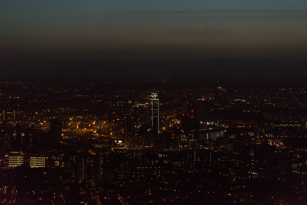 Vauxhall from the Shard