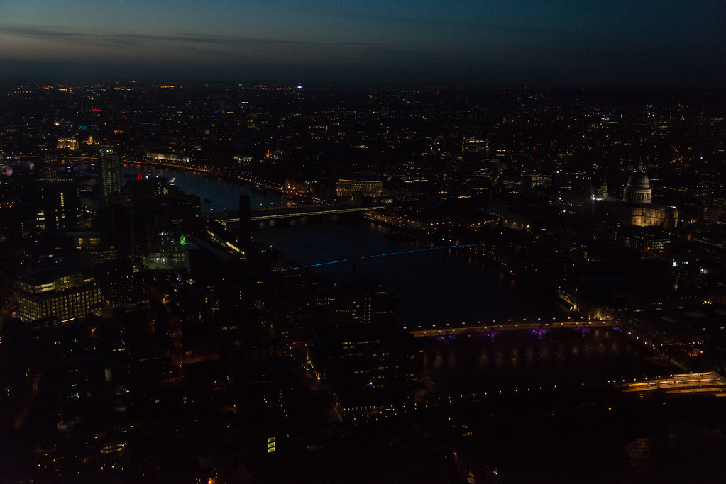 Central London from the Shard