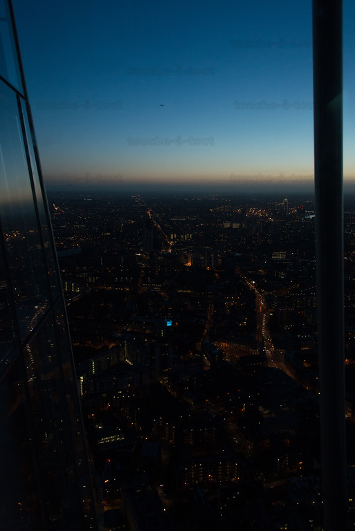 Looking west from the Shard