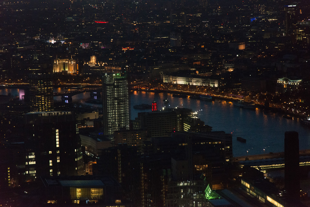 The Oxo Tower from the Shard