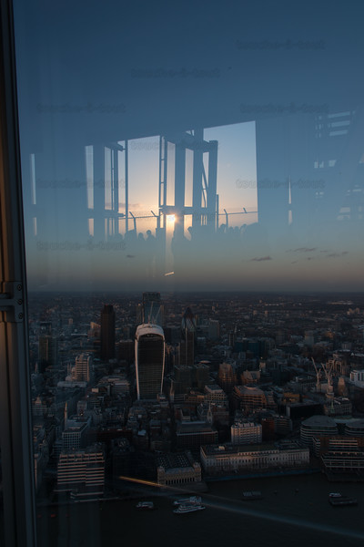 The City, from the Shard