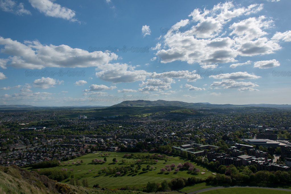 View from Arthur's Seat, Edinburgh
