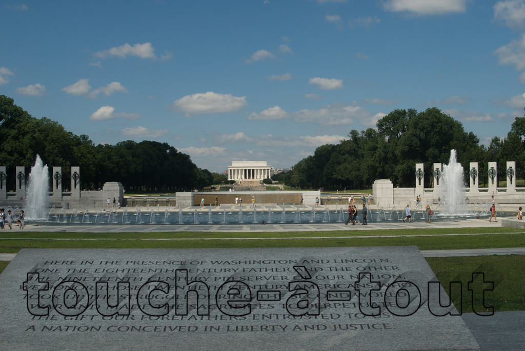 Lincoln Memorial and reflecting pool, Washington D.C.