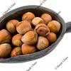 scoop of  hazelnuts