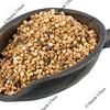 scoop of roasted buckwheat (kasha)