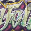 colorful graffiti on a train