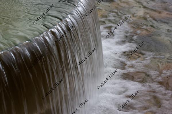 fountain waterfall abstract