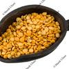 scoop of yellow split peas