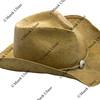 western style straw hat