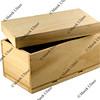 gift box - unfinished wood