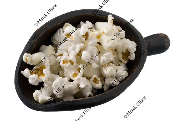 scoop of popcorn