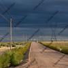 dirt road in eastern Colorado prairie