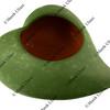 clay leaf shape flower bowl