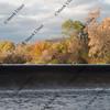 river diversion dam for farmland irrigation among hills