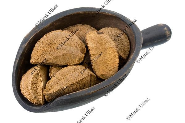 scoop of Brazil nuts