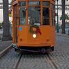 vintage streetcar of San Francisco