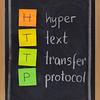hyper text transfer protocol  - http