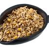scoop of grain horse feed