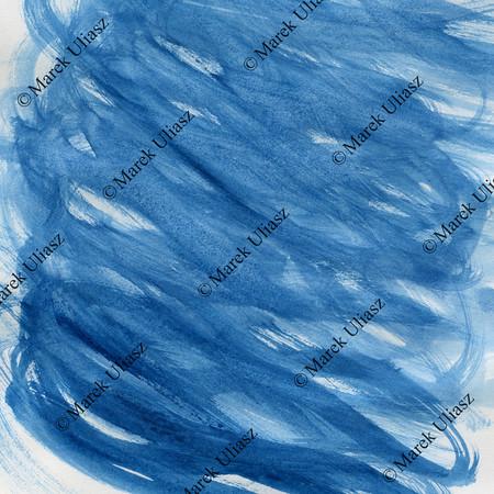blue wavy random watercolor background
