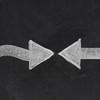 confrontation or face-to-face concept