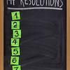 my resolutions list